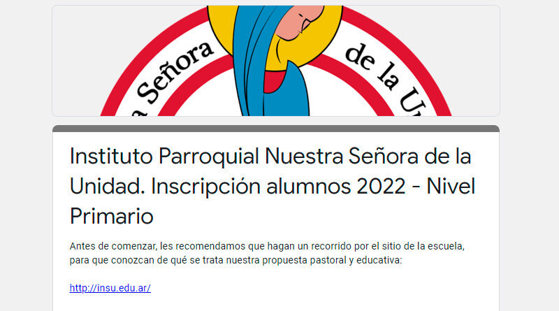 Inscripciones   Ciclo 2022
