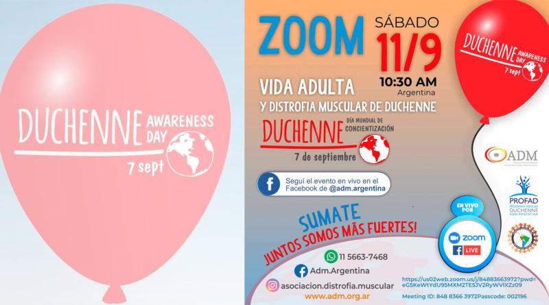 Día mundial de la concientización de la Distrofia Muscular de Duchenne